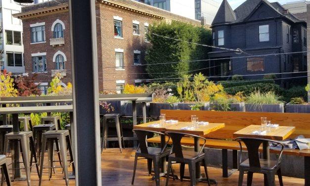 Déjeuner en terrasse à Capitol Hill