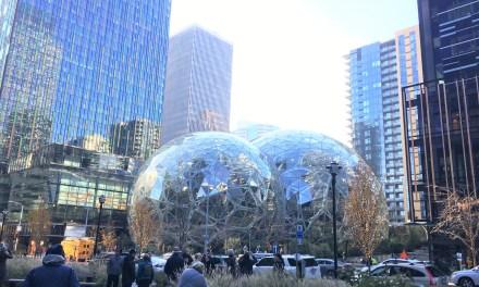 Les sphères Amazon  : jardin botanique et espace de travail