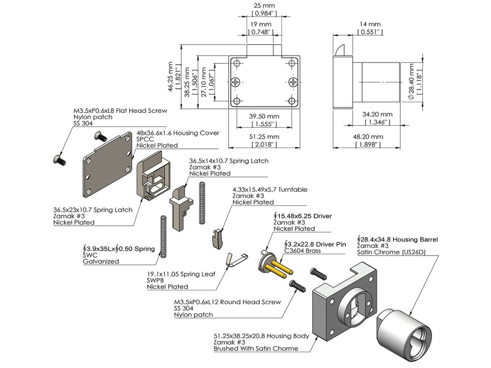 medium resolution of sfic cabinet deadlatch lock ick lock productsdeadlatch diagram 11
