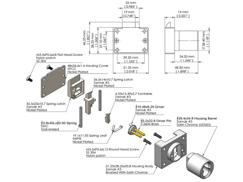 small resolution of sfic cabinet deadlatch lock ick lock productsdeadlatch diagram 11