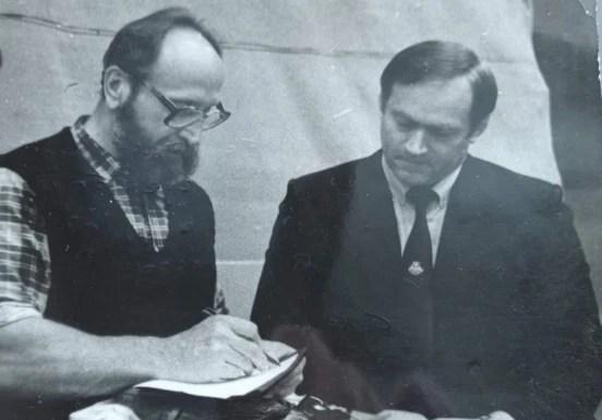 Юрий Власов (в центре) и Олег Писаревский
