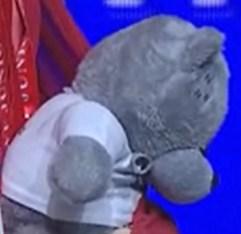 плюшевый медвеженок.