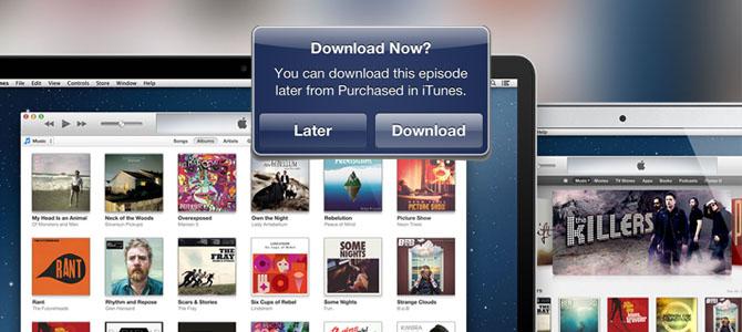 """iTunes ganha """"compra agora e descarrega mais tarde"""""""