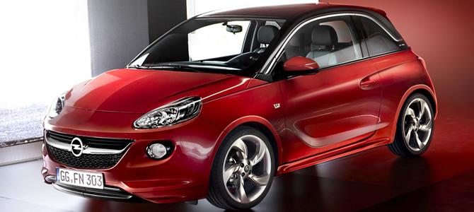 "Opel Adam vem equipado com o sistema ""Siri Eyes Free"""