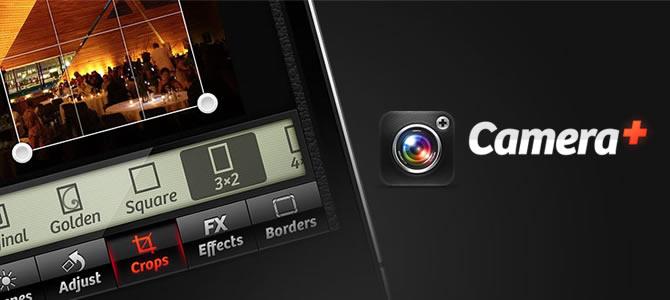 Camera + (comentário à App)