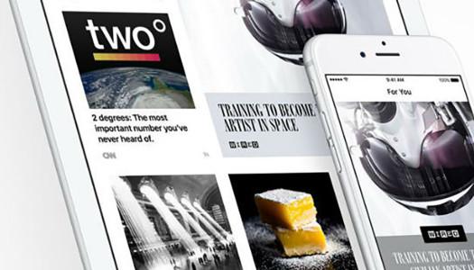 Apple News com conta oficial no Twitter