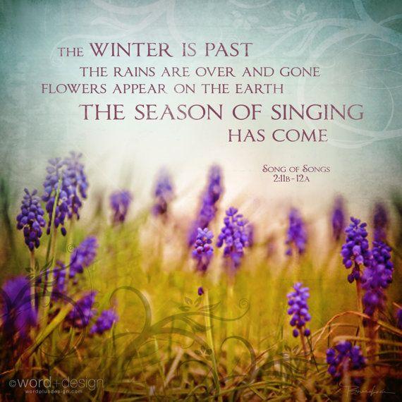 song of solomon 2 11- 12