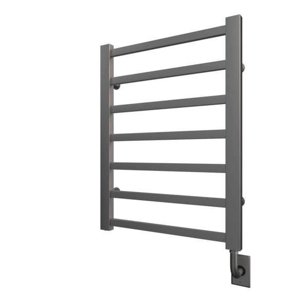 "W7024 Tuzio Milano 23.5"" x 31"" Towel Warmer - Brushed Nickel"