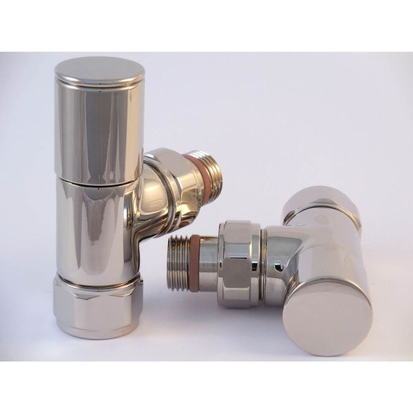 A1016 - Tuzio Regular Angle Valve (Pair) - Polished Nickel