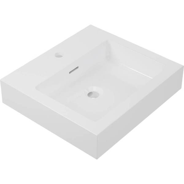 B9921 - Calma -Vivaldi Plus Vessel Sink - White