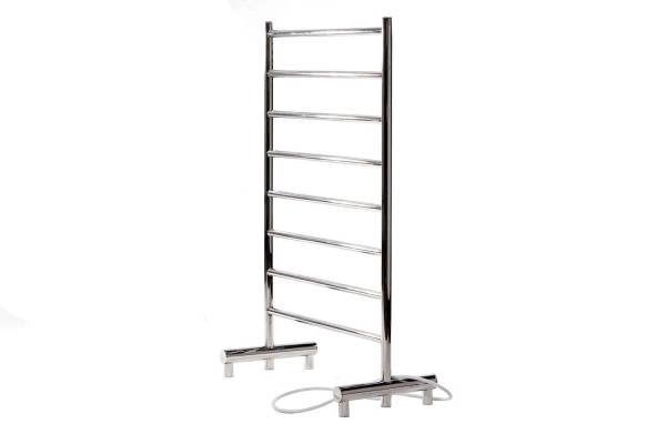 "K1023 - Kontour Camber 25"" x 38"" Free-Standing Electric Plugin Towel Warmer - Chrome"