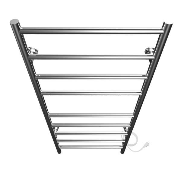 "K4023E - Kontour Linear 18"" x 40"" Electric Plugin Towel Warmer - Chrome"