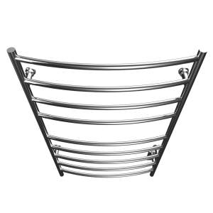"K4043W - Kontour Convex 24"" x 40"" Electric Hardwired Towel Warmer - Chrome"