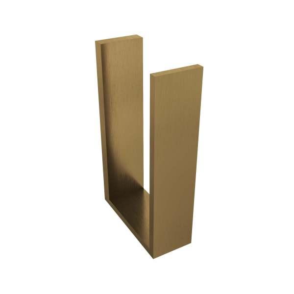 V1080-BGD - Volkano Erupt Spare Toilet Paper Holder - Brushed Gold Dark