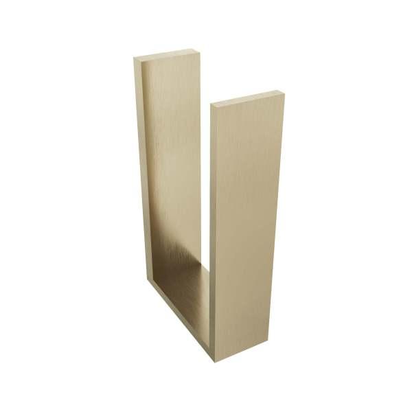 V1080-BGL - Volkano Erupt Spare Toilet Paper Holder - Brushed Gold Light