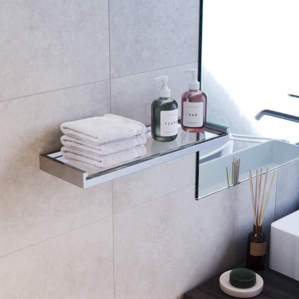 V5763 - Fire Glass Shelf