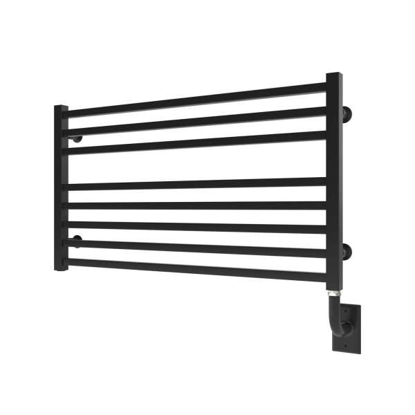"W3605 - Tuzio Avento 35.5"" x 19"" Towel Warmer - Matte Black"