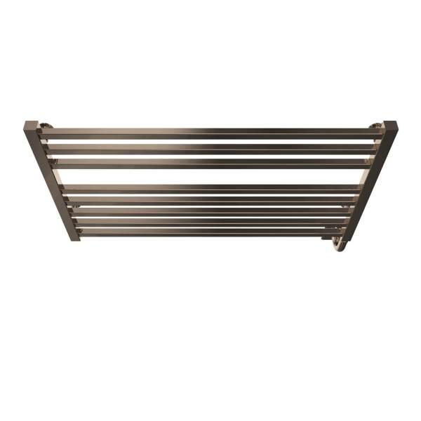 """W3606 - Tuzio Avento 35.5"""" x 19"""" Towel Warmer - Polished Nickel"""