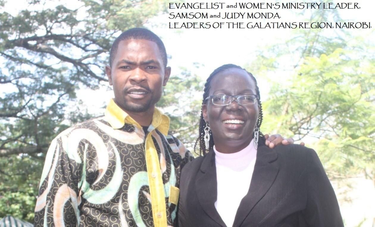 Evangelist Samson and Judy Monda