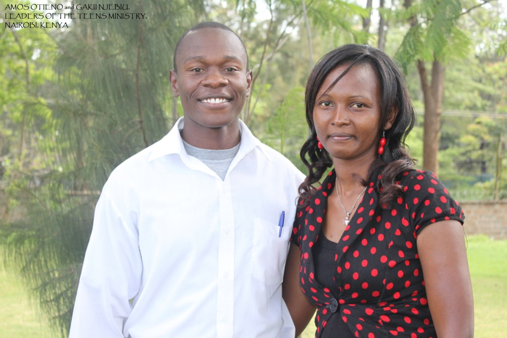 Mr. and Mrs. Amos and Gakii Otieno