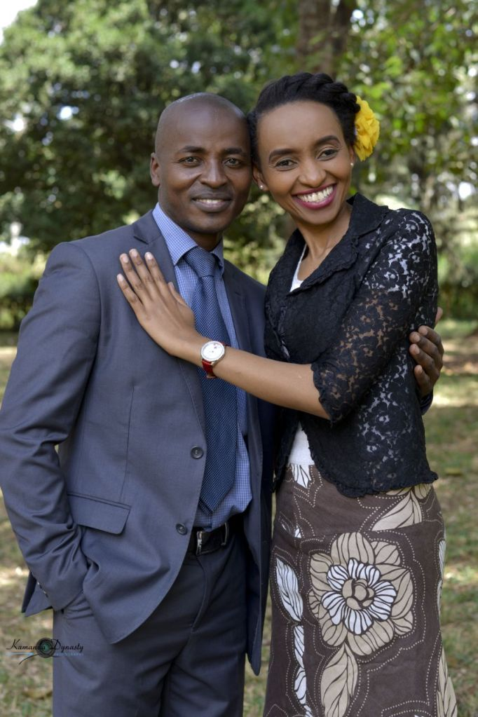 Edwin & Evelyn Mahiga