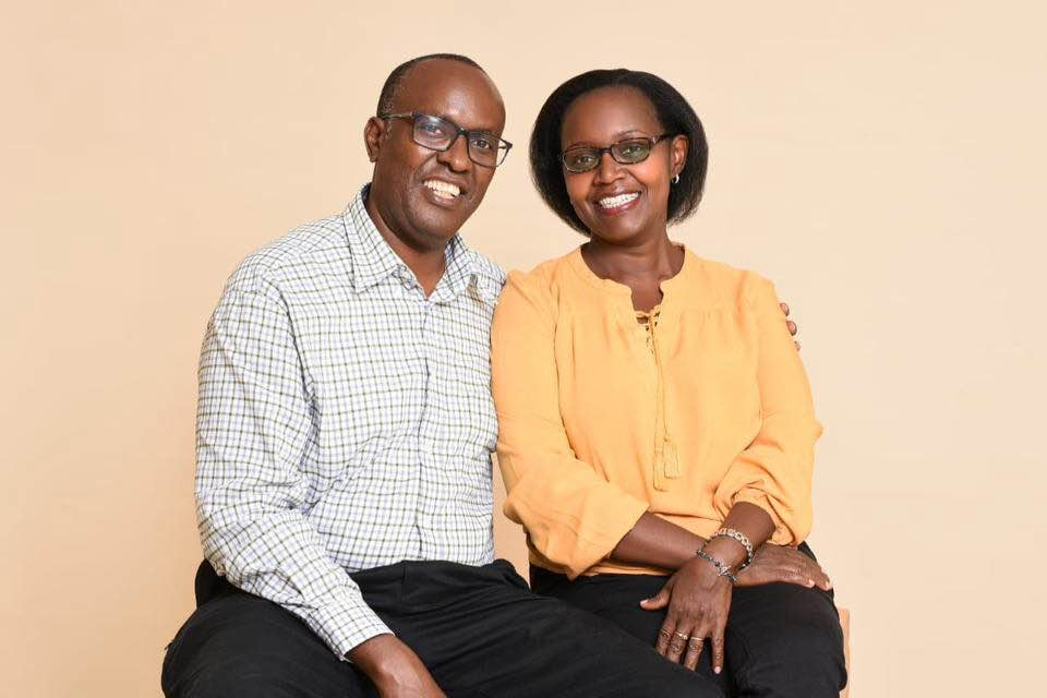 Mr and Mrs Eunice and Sammy Mbuva