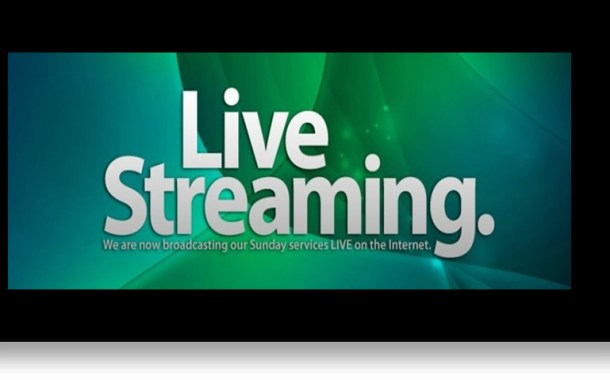 Sunday Worship – Watch LIVE!