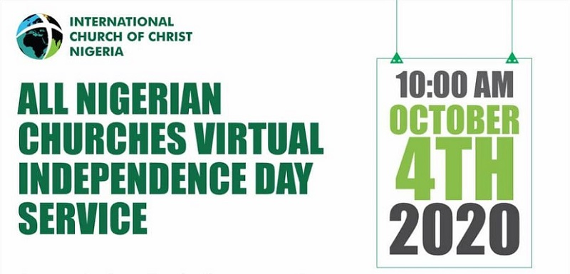 All Nigerian Churches Virtual Independence Service