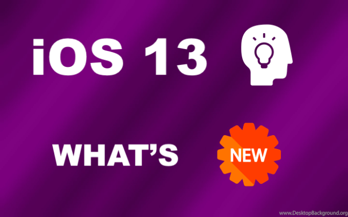 iOS 13 What's New?