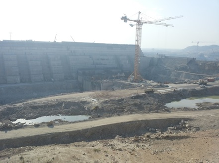 The Grand Ethiopian Renaissance Dam: Photo Courtesy of Tsion Sahle