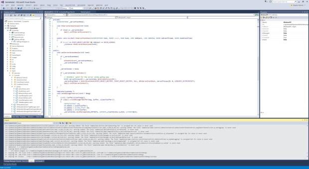 Screenshot from a programer's pc