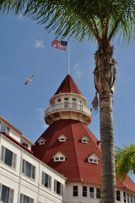 We visited the Hotel del Coronado, which is a stately, sprawling place with lots of history.