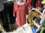 Stockholm. laxfärgad klänning, 36, 45 kr