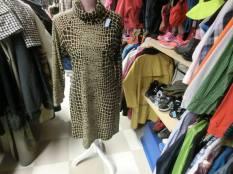 NK, Mönstrad klänning, 45 kr
