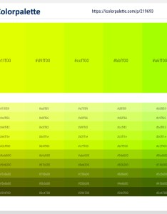 Palette image also chartreuse yellow electric lime rh icolorpalette