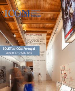 Boletim ICOM Portugal, série III, n.º 7, Set 2016