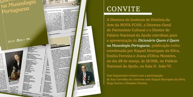 Lançamento do Dicionário Quem é Quem na Museologia Portuguesa