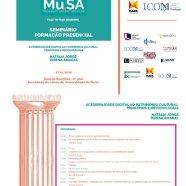 Sessões presenciais – Curso de Especialização Mu.SA