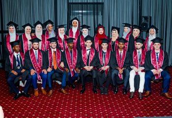 Year 12 graduation photo