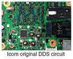 Icom origignal DDS circuit