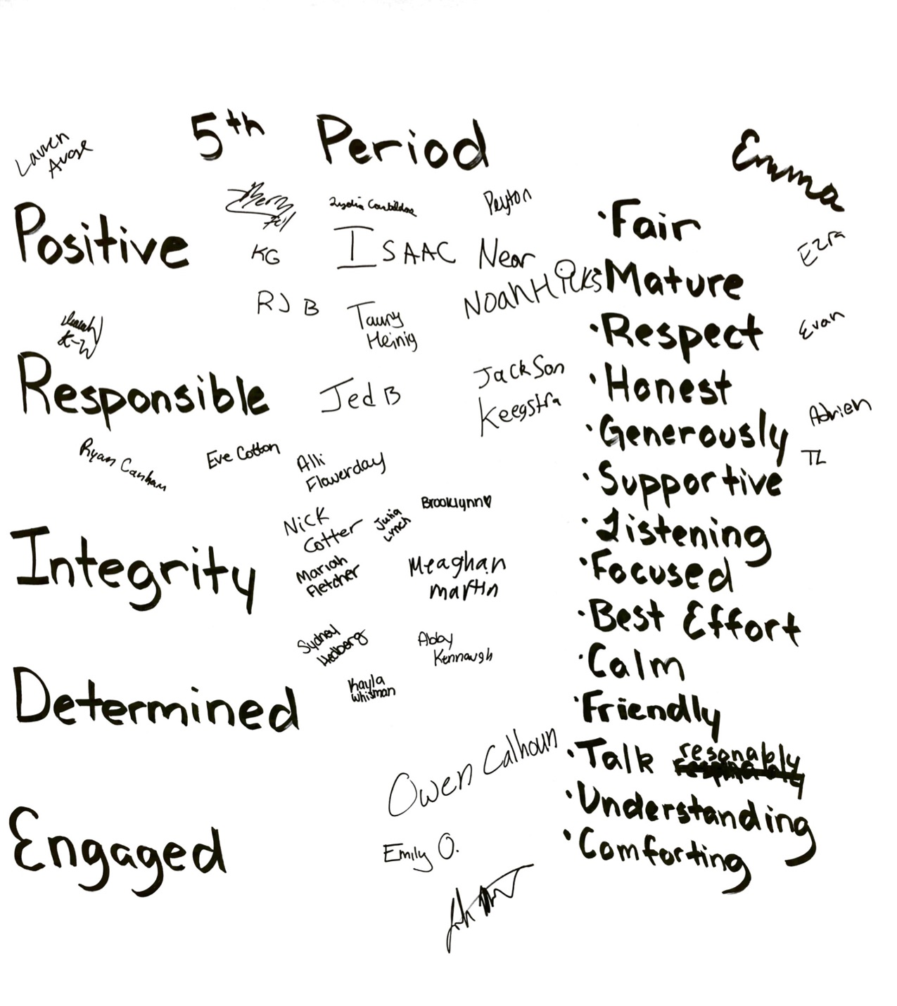 Classroom Rules & Social Contracts » iComets.org