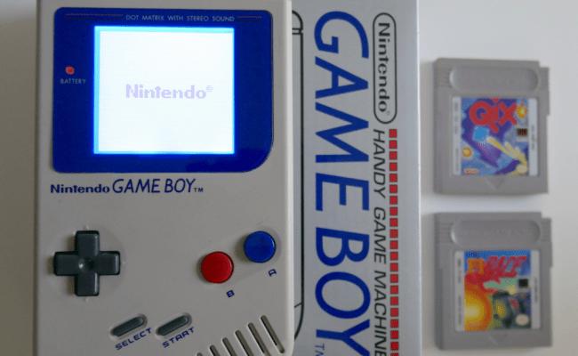 Fashioned Nintendo Gameboy Dmg 01 W Backlight Bivert Mod