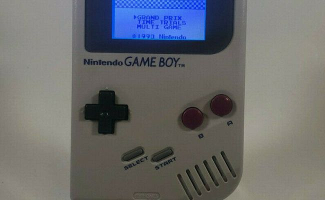 Normal Nintendo Gameboy Dmg 01 With Backlight And