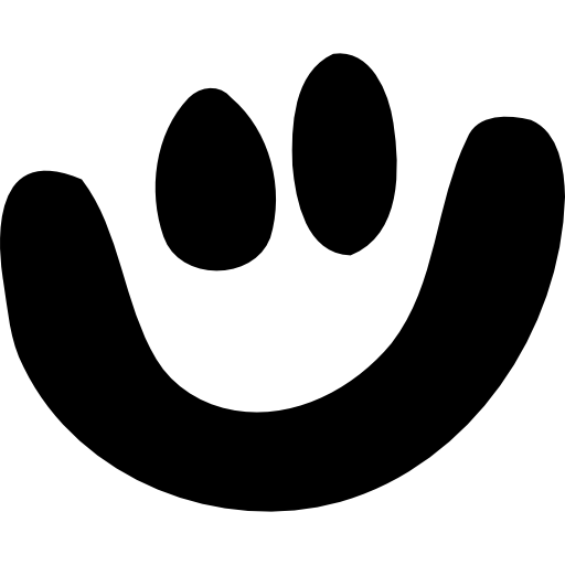 Senyum Ikon Gratis dari Simpleicon Social media