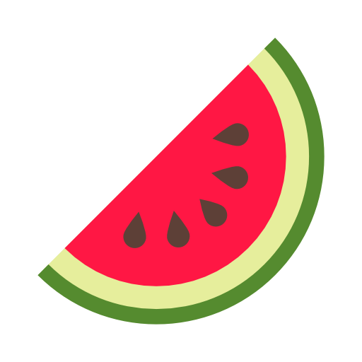 Watermelon food Icon Free of 100 Colored Food  Drink Icons
