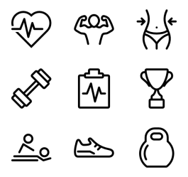Fitness Icon Png #367290 Free Icons Library