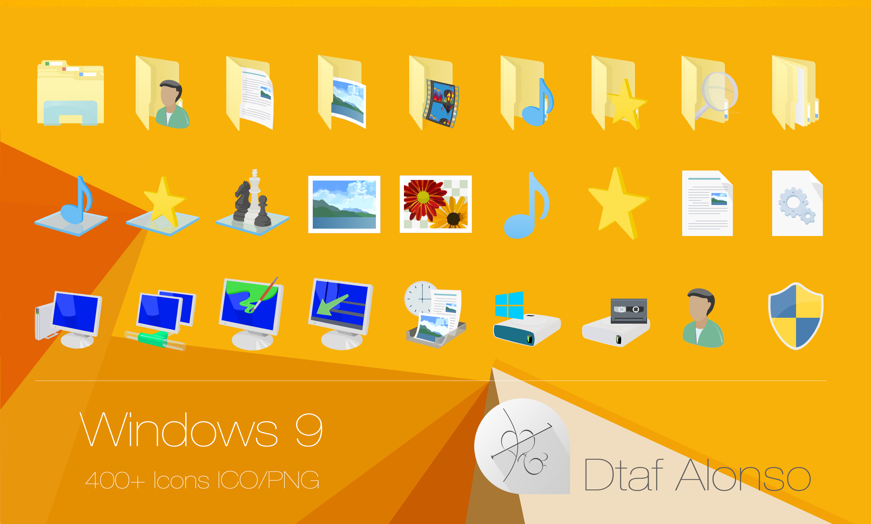 Windows 10 Folder Icon Download #68976 - Free Icons Library
