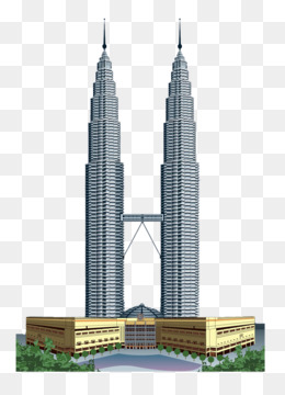Twin Tower Png : tower, Petronas, Tower, Transparent, Clipart, Download., CleanPNG, KissPNG