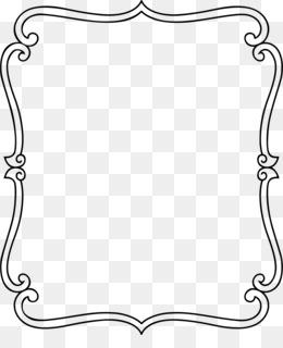 Hiasan Bingkai : hiasan, bingkai, Download, Black, White, Frame, CleanPNG, KissPNG