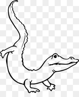 Gambar Buaya Hitam Putih : gambar, buaya, hitam, putih, Crocodile, Silhouette, Silhouette., CleanPNG, KissPNG